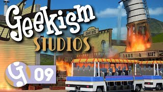 Western FX Show  Geekism Studios  Lets Play Planet Coaster 09