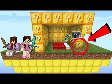 Minecraft: BEDWARS WITH ELENI \u0026 EX WIFE JEN VS ME!