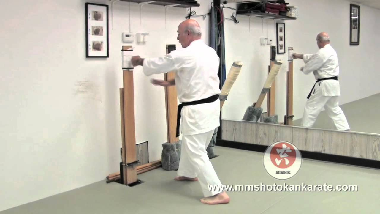 Makiwara Board Training Traditional Japanese Karate