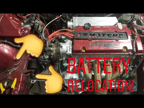 BATTERY RELOCATION SIMPLIFIED!!