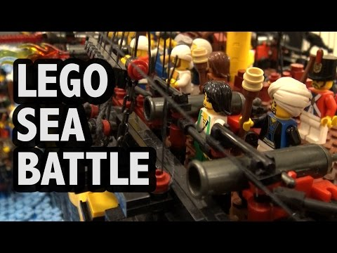 LEGO American Revolutionary War Sea Battle | BrickCon 2016