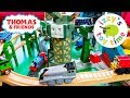 WE MADE A THOMAS TRAIN POTATO TRACK. Thomas and Friends with Brio & Trackmaster | Toy Trains 4 Kids