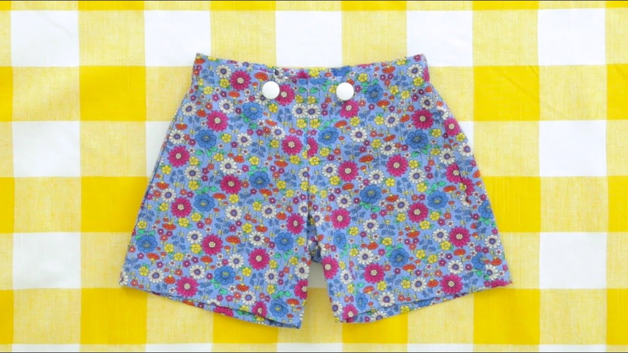 photograph about Free Printable Toddler Shorts Pattern named How in direction of sew a couple of shorts with a flat entrance