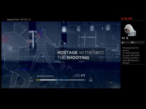 Detroit: Become Human  Live PS4 Broadcast