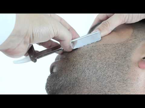 How to do a Straight Razor Shave and Beard Trim by Pacinos The Barber