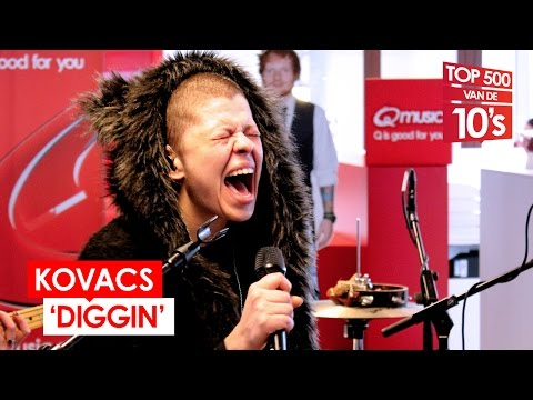 Kovacs - 'Diggin' (live Bij Mattie & Wietze)