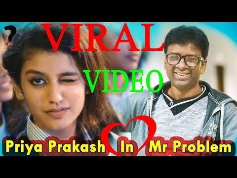 Priya Prakash Varrier Viral Funny Video 2018║Oru Adaar Love║Mosharraf Karim Funny Video║MrProblem TV