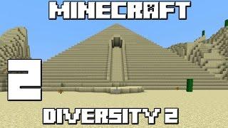 Minecraft Mapa DIVERSITY 2! Capitulo 2!