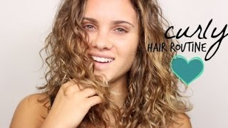 frizz free defined natural curls   my routine
