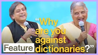 Shashi Tharoor And Sudha Murty Talk Books