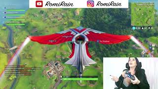 Romi Rain Plays Fortnite! (1st Twitch Live Stream!)