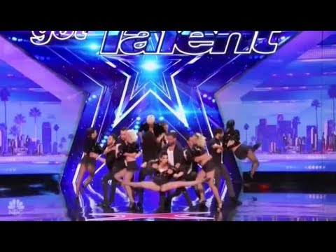 A Traditional Yet Modern ROMANTIC Tango Dance Routine | America's Got Talent 2017