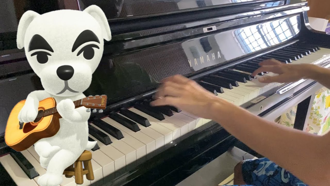 Animal Crossing K K Slider K K Cruisin Piano Cover Youtube