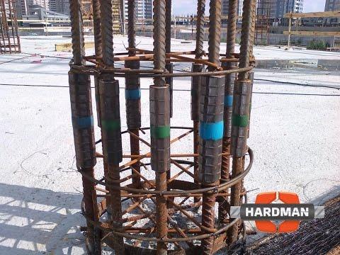 Соединения арматуры на строительной площадке (Технология строительства)