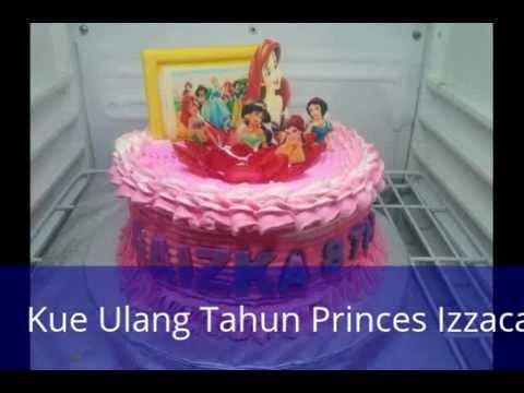 Kue Ulang Tahun Princes Cake Ultah Made In Izzacake