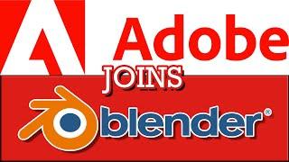 Adobe Joining Blender Developm…