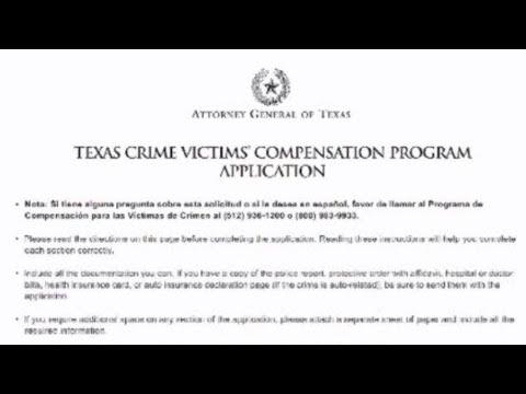 Texas Crime Victims' Compensation Program