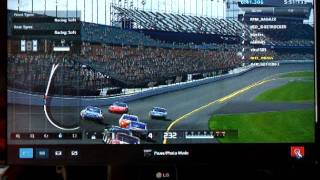 ps3 gt5 online race nascars 20 laps superspeedway daytona epic win
