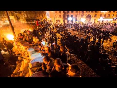 «Горіла шина» Хіт Євромайдану -- пісня про події на Грушевського.