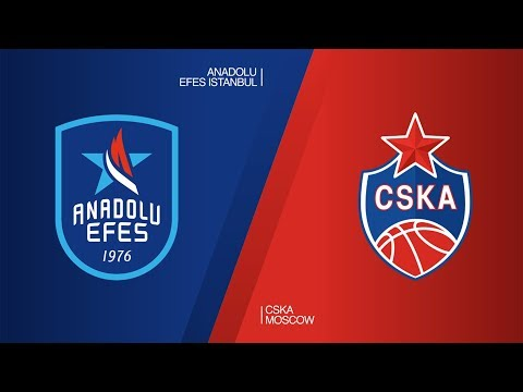 Anadolu Efes Istanbul - CSKA Moscow Highlights | Turkish Airlines EuroLeague RS