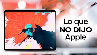 6 cosas que Apple no dijo del nuevo iPad Pro 2018