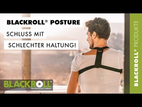 Dein Haltungstrainer - der BLACKROLL® POSTURE (DE)