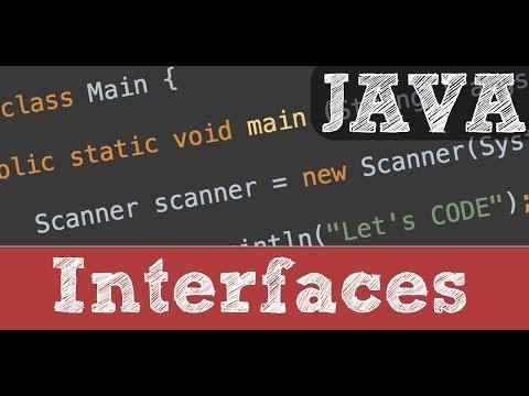 Interfaces en Java (Programación orientada a objetos)