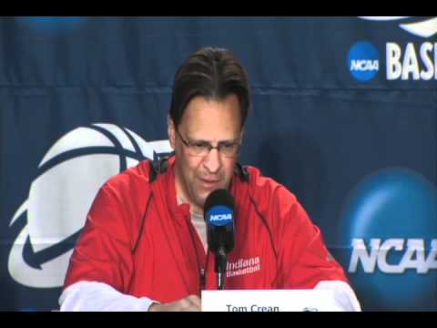Tom Crean Press Conference, March 22, 2012 - NCAA Tournament Sweet Sixteen