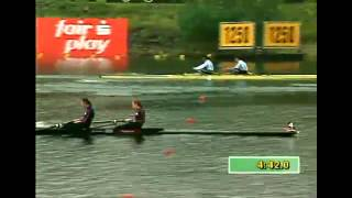 1998 World Championships - Cologne Fuehlingersee, Germany - Race 74 : LW2- / F
