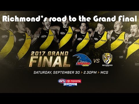 Richmond's road to the Grand Final