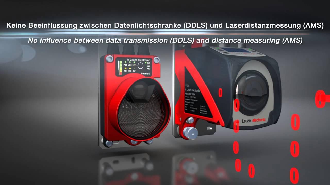 Leuze electronic optische datenübertragung ddls laser