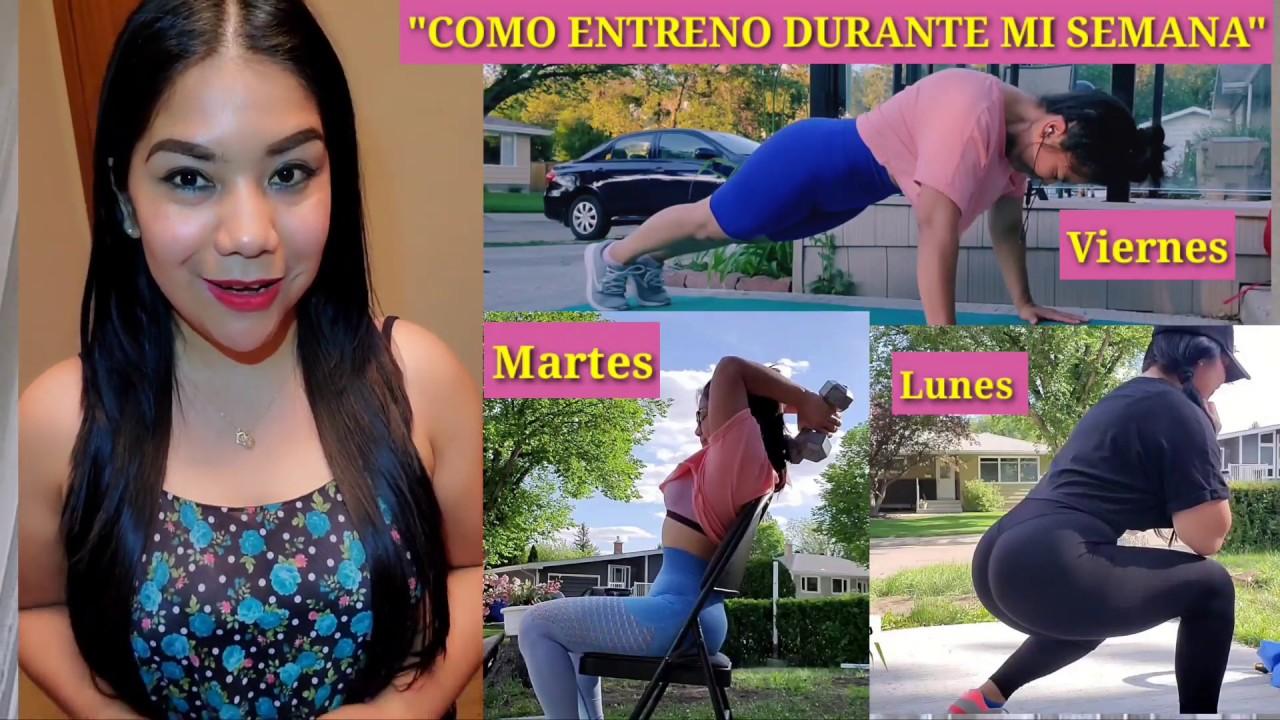 """""""Como Organizo Mis RUTINAS en Mi Semana"""" (Piernas,Brazos,Abdomen, Gluteos)"""