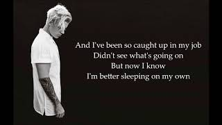 whatsapp status of Justin Bieber   Love Yourself Lyrics