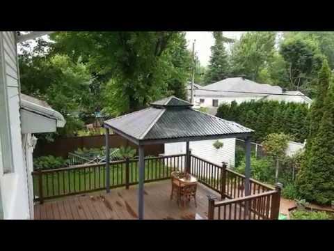 DIY Polycarbonate Gazebo Roof