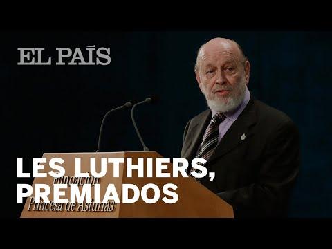 El discurso de Les Luthiers en los Premios Princesa de Asturias | Cultura