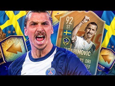 WE FINALLY GOT HIM! 92 FLASHBACK ZLATAN IBRAHIMOVIC! FIFA 19 Ultimate Team