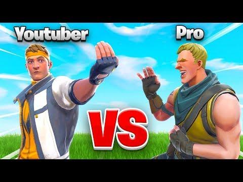 YOUTUBER vs. PRO In Fortnite... WHO WINS?!?