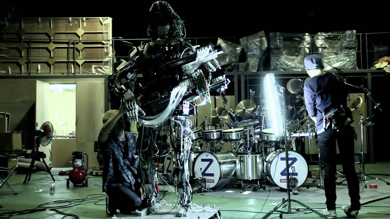 Squarepusher X Z Machines Making Of Music For Robots