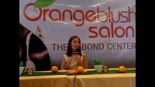 Orange Blush Salon Grand Presscon