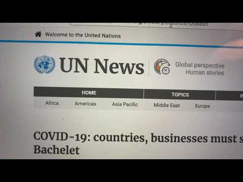 Is The UN News Happy For The Pandemic Because It Will Cause Lower Emissions, Even With Loss Of Life?