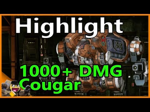 Heavy Laser Cougar Build - Mechwarrior Online The Daily Dose #952 from YouTube · Duration:  12 minutes 56 seconds