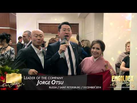 Emgoldex St. Petersburg GOLDEN AGE - This is why this business is wonderful! Jorge Otsu