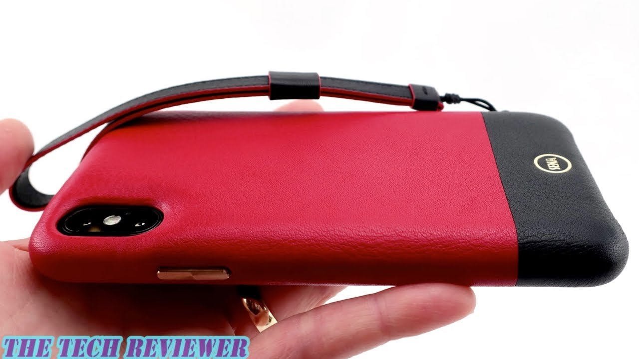 best sneakers 612fb e6105 Sena Arri Wristlet: Lovely Leather Case with Drop Safe Technology for  iPhone X!
