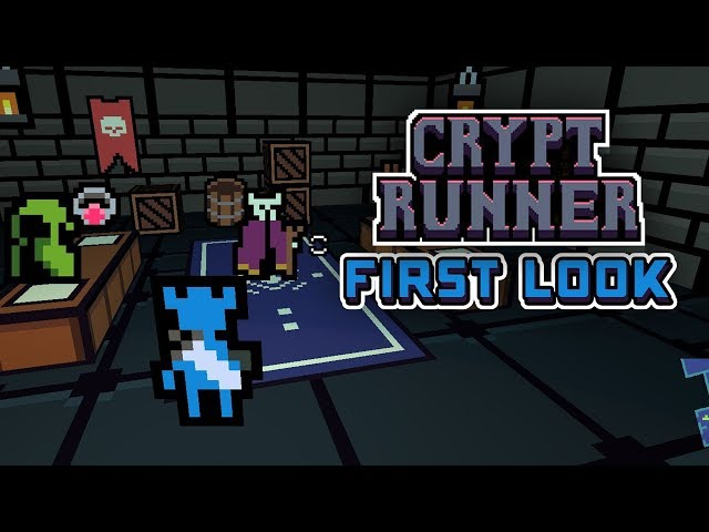 Cryptrunner First Look - A Minimalist 3D Dungeon Crawling Adventure