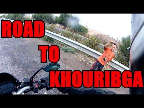Road to khouribga.