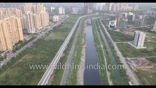 Noida metro trains, drain, incomplete residential projects and ill-conceived park