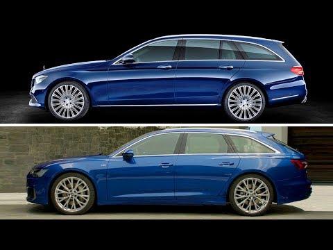 2019 Audi A6 Avant VS Mercedes E-class Estate s213
