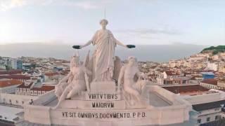 Португалия - Лиссабон - виды с высоты птичьего полета(, 2017-01-22T19:26:30.000Z)