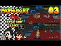 Mario Kart 64 Wii U Multiplayer Grand Prix Part 3 Star Cup 150cc Wario vs Bowser DarkLightBros