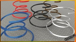 Solidworks Tutorial #8 Complexe Helix plus revolved surface
